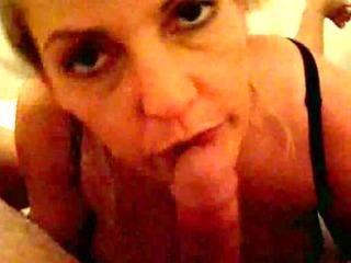 Mature woman suck dick till you stop