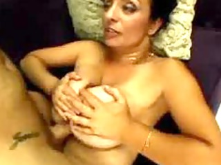 Sexy Busty MILF getting tit fucked