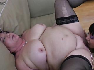 chubby granny bonks 11 juvenile lesbos