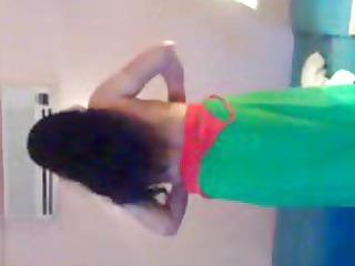 lady in green saree