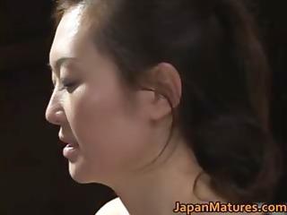 Mature sexy Mina Toujou Goes