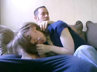 oral pleasure with mom in the room