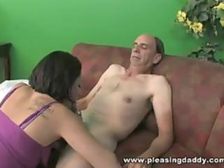 slut copulates someones old man