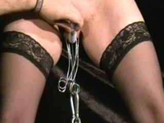 Brutal torture of mature slavegirl