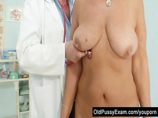 hawt busty granny tits and love tunnel gyno