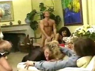 Tasty hardcore milf group sex delights