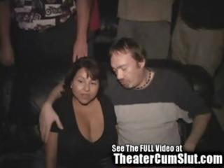 big titty latin chick mother i acquires gang
