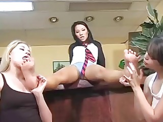 hot foot fetish gals
