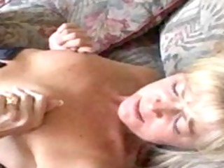 obscene mommy in nylons receives her vagina licked