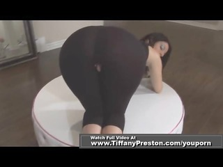 FUCKED AND JIZZ ON HER ROUND BUTT