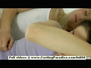 natalia rogue and aiden ashley blond and brunette