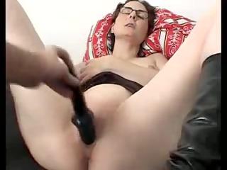 annette dark fake penis orgasmic strokes