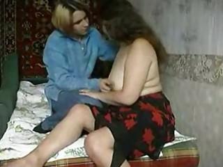 hidden webcam caught aged woman screwed by