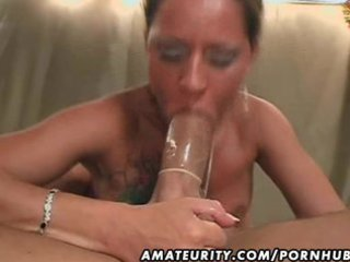 amateur milf homemade hardcore with facial jizz