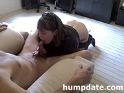 sexy mother i gives admirable fellatio and tugjob