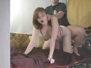 obese babe in darksome underware acquires bonked