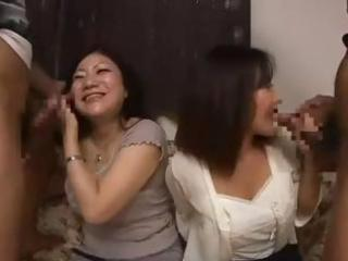 wicked asian mamma and her young daughter get