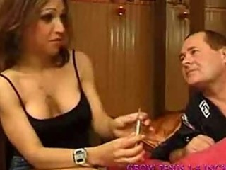 Mature gets anal french part1
