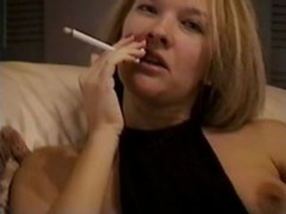 hawt mother i golden-haired smokey tease