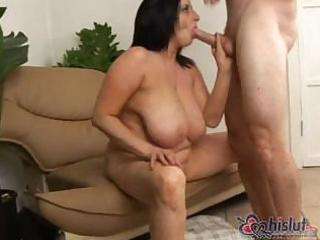large breasty kitty lee is a older milf who likes