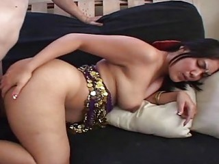 indian wife bows over and gets hard doggy position