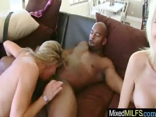 darksome hard shlong for hot breasty curve mother