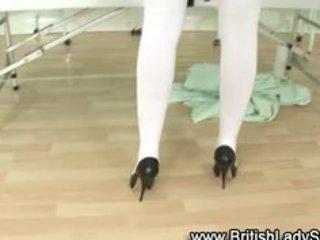 british classy mature nurse receives immodest