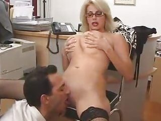 large titted mama with her boss...f63