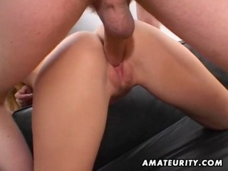 redhead dilettante mother i double blowjob, anal