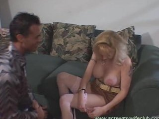 hubby watched wife enjoyed threesome