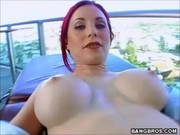redhead beauty milf bitch wazoo drilled
