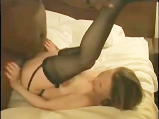 white wife properly inseminated by darksome bulls