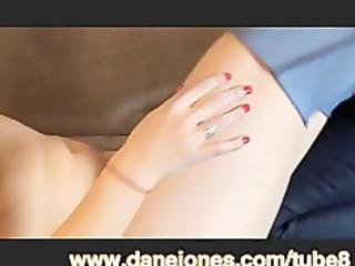 DaneJones Lesbian woman fucks her young blonde gf