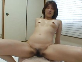 Japanese milf yoko ikeda riding dick