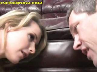horny hubby watches wife up close take that is