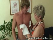 granny seducing younger rod
