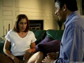 daughter enticed old dad in absence of mama
