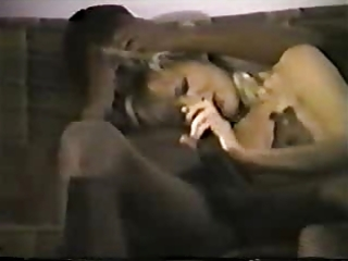 youthful blond white wife with darksome paramour