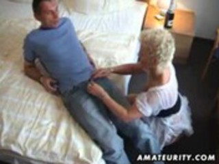 amateur milf sucks and copulates a
