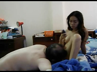 hot oriental hottie screwed by aged chap