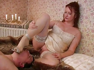 older dominatrix - facesitting, mens masturbation
