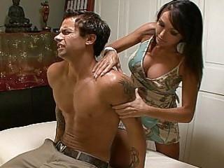 kristina cross is a mama and a masseuse