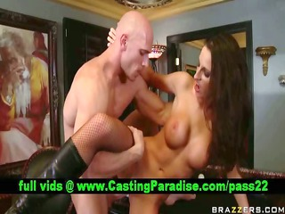kortney kane busty brunette fucking and acquires
