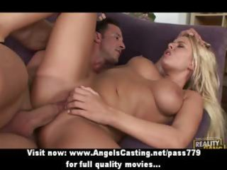 swinger foursome with blond wives fucked hard and