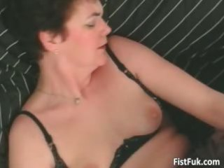 aged doxy having great fur pie fisting part1