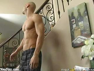 Johnny goes downstairs for a hot milf