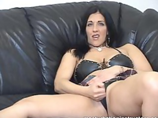 masturbation instructor demos jerk off on her wet