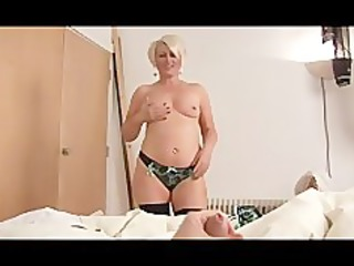 aged bimbo ruling over a dick pov