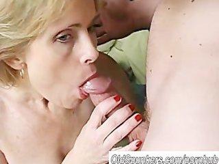 sexy aged dilettante enjoys a lengthy hard fuck