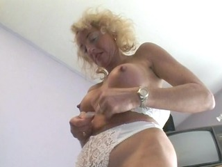 aged german golden-haired wishes to make a porn -